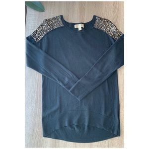 MK Black Sweater, XS